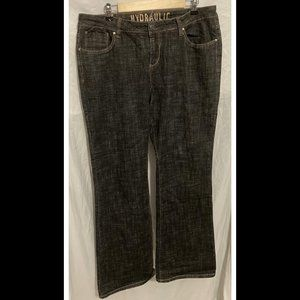 Size 22W Hydraulic Jeans Bootcut